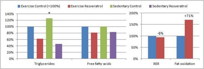 Resveratrol als Fat Burner, Kraft- & Ausdauerbooster?