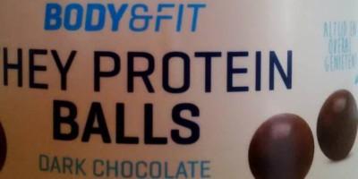 Review: Whey Protein Balls von Body & Fit im Test