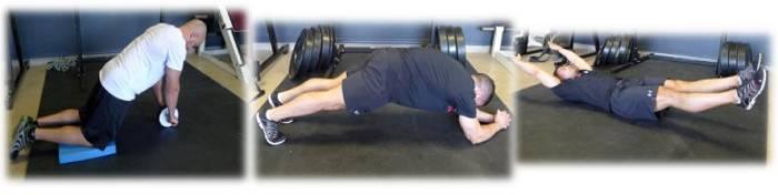 Unterstützende Übungen fürs Military Press: Bauch