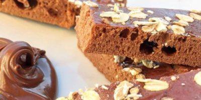Selbstgemachter Schokoladen Energieriegel | High Protein Snack
