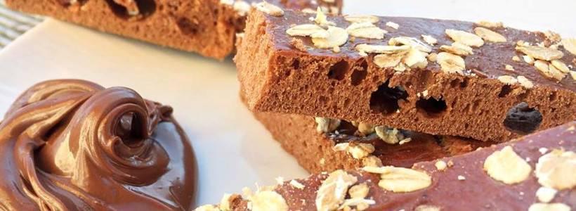 Schokoladen Energieriegel | High Protein Snack