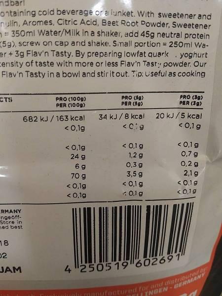 Review: Flav'n Tasty von ESN im Test