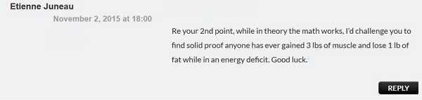 Die Wahrheit: Du kannst auch in einem Kaloriendefizit an Gewicht zulegen