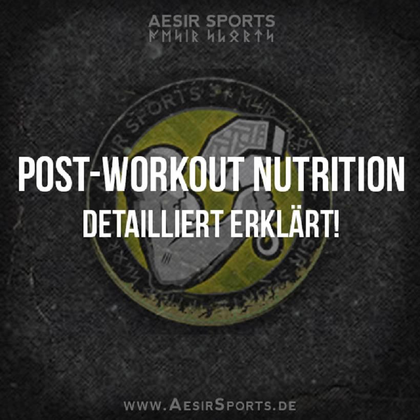 Post-Workout Nutrition detailliert erklärt
