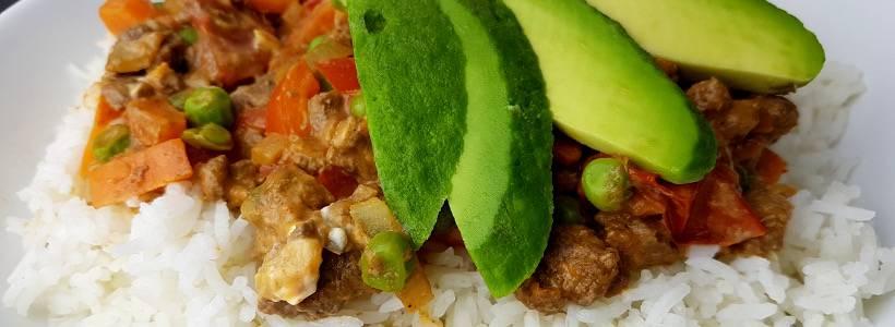 Sahne Hackfleischpfanne | Hauptmahlzeit Rezept