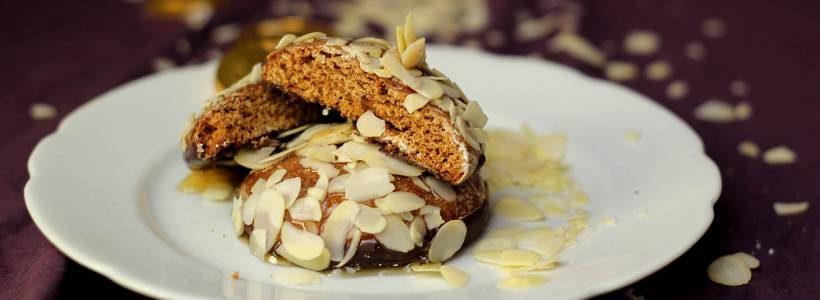 Vegane Honig Lebkuchen   100 kcal Snack