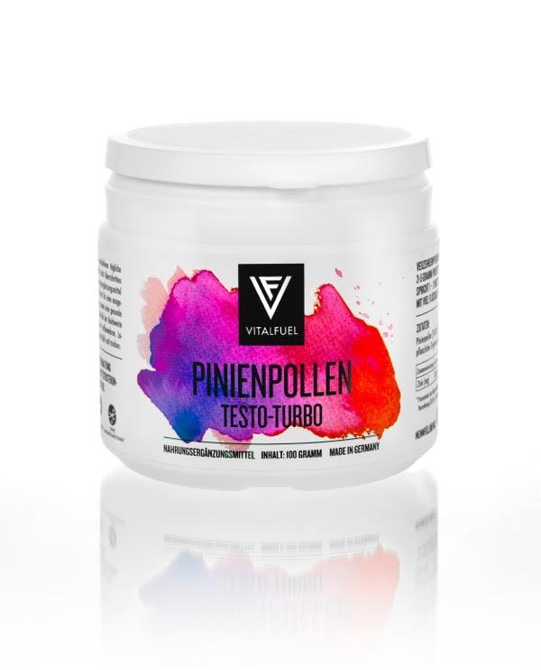 Review: Pinienpollen (Pine Pollen) Testo-Turbo von Vitalfuel im Test