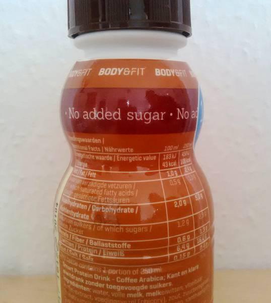 Review: Smart Protein Drink von Body & Fit im Test