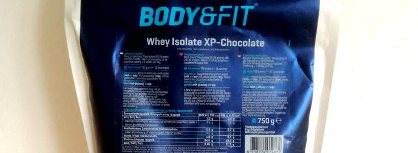 Review: Whey Isolate XP (Schokolade) von Body & Fit im Test