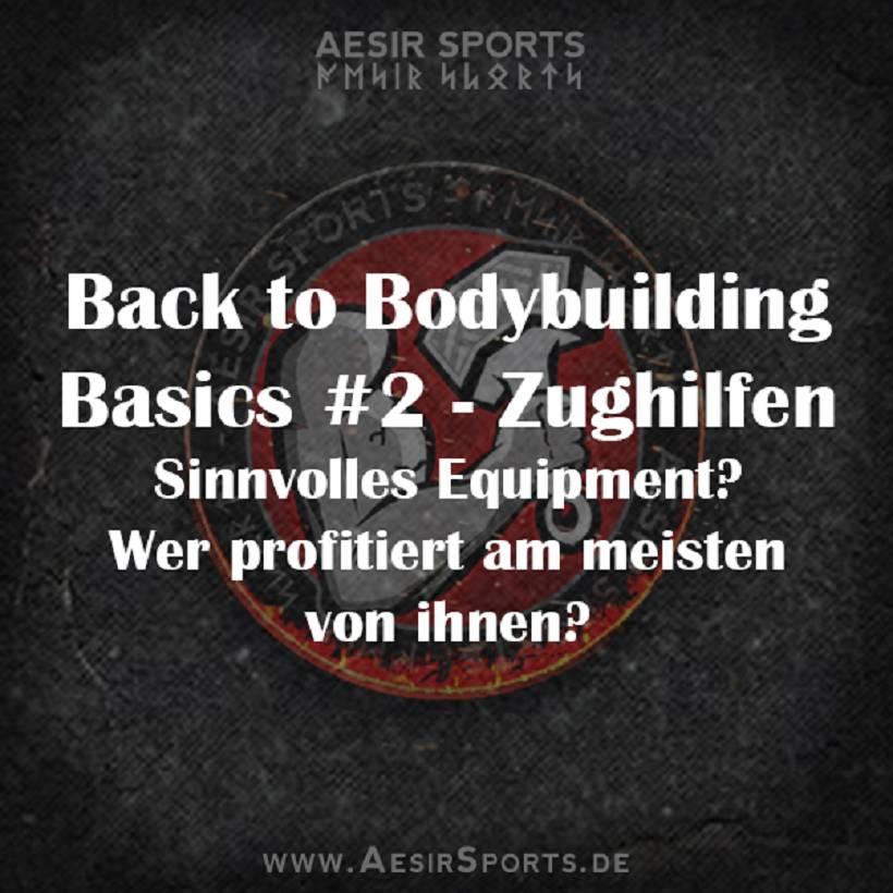 Back to Bodybuilding Basics #2: Zughilfen - Sinnvolles Equipment? Wer profitiert am stärksten?