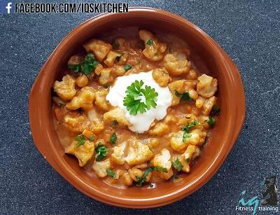 Kichererbsen Blumenkohl Curry|Vegetarisches Rezept