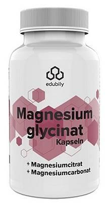 Review: Magnesium Kapseln (Magnesiumglycinat) von Edubily im Test