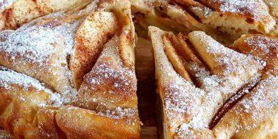 Protein Apfelkuchen   Selbstgemachtes Dessert Rezept