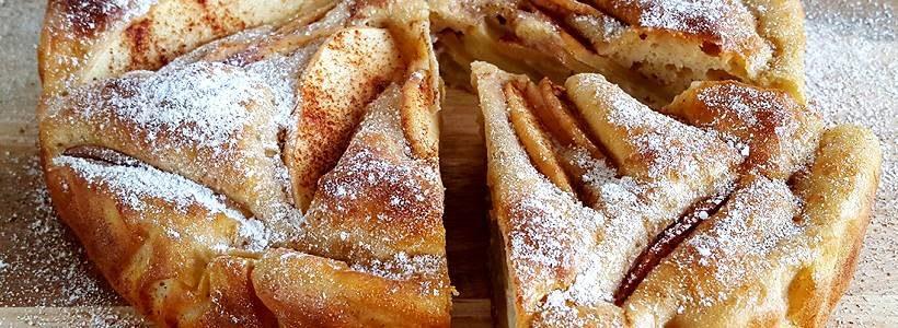 Protein Apfelkuchen | Selbstgemachtes Dessert Rezept