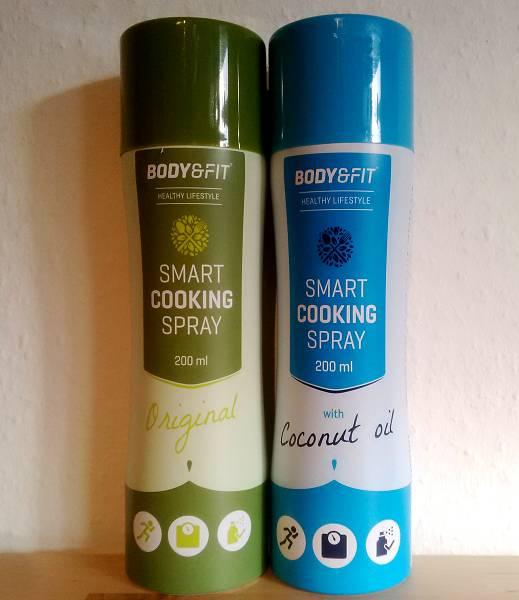 Review: Smart Cooking Spray von Body & Fit im Test