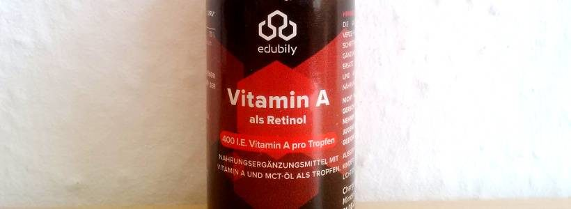 Review: Vitamin A Tropfen (Retinol) von Edubily im Test