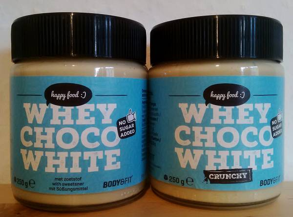 Review: Whey Choco White von Body & Fit im Test