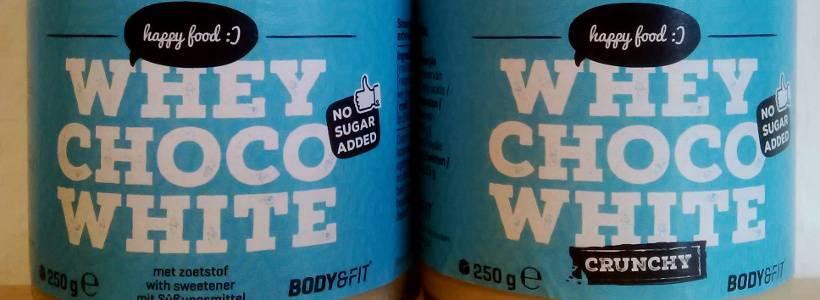 Review: Whey Choco White von Body & Fit im Test