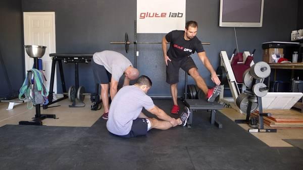 Gesundheitsvorsorge: Übung #3: Oberschenkelrückseite (Hamstrings) dehnen