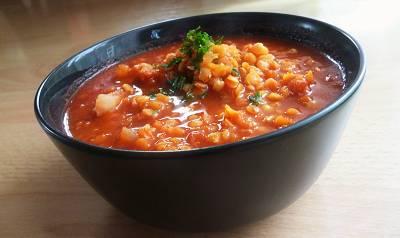 Rezept: Veganes Linsencurry - Proteinreiches 400 kcal Hauptgericht