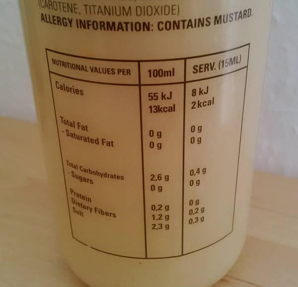 Review: Nutriful 0% Soßen von Nutriful im Test