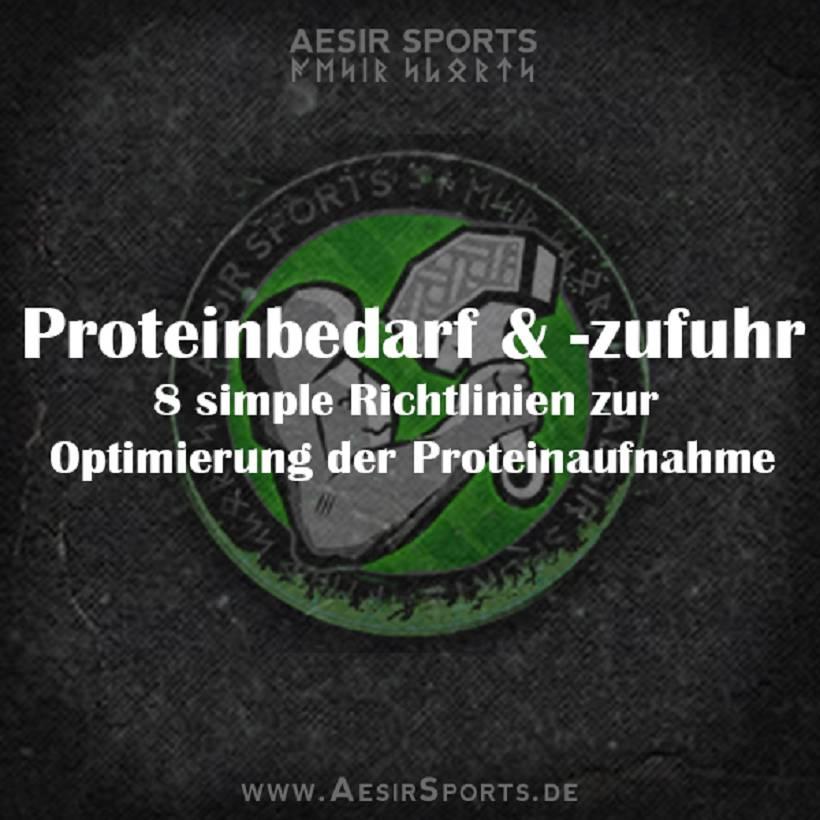 8 simple Richtlinien zur Optimierung deiner Proteinzufuhr