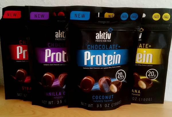 Review: Aktiv Protein Bites von AKTIV im Test