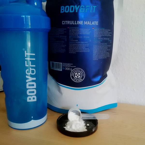 Review: Citrullin-Malat von Body & Fit im Test