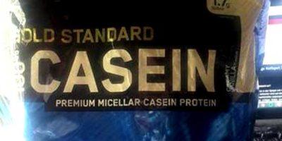 Gewinnspiel: 1 Beutel Gold Standard Casein sucht neuen Besitzer!
