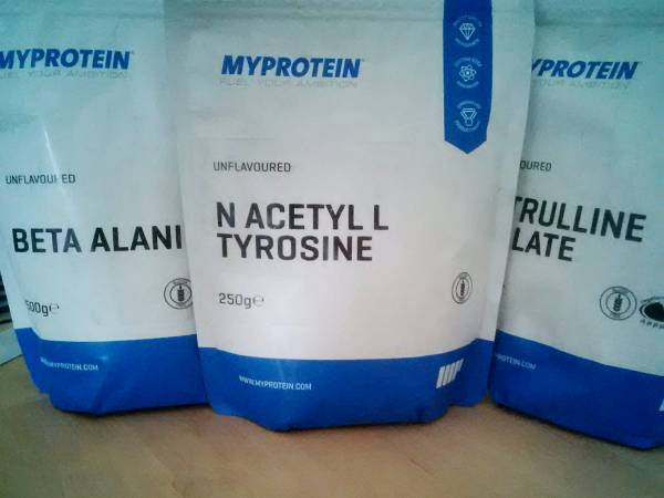 Review: N-Acetyl L-Tyrosin von Myprotein im Test