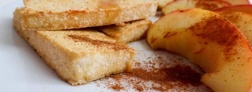 Süßer Tofu | Schneller Snack