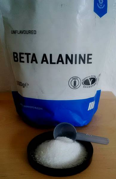 Review: Beta-Alanin von Myprotein im Test