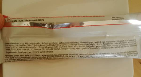 Review: Core Bar Proteinriegel von GOT7 Nutrition im Test