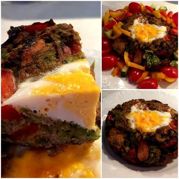 Herzhafter Brokkoli-Hähnchen Kuchen | Leckere Hauptmahlzeit