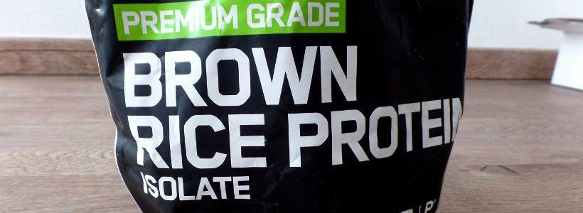 Review: Brown Rice Protein Isolate von ESN