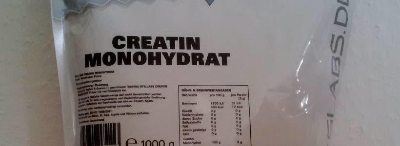 Review: Creatin Monohydrat von SygLabs Nutrition im Test