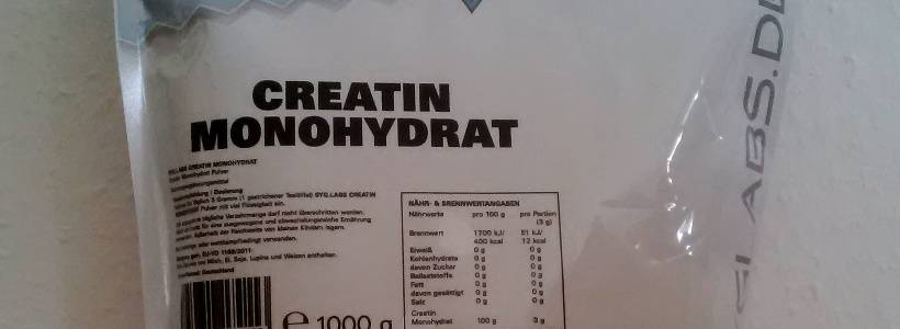 Review: Creatin Monohydrat von SygLabs Nutrition im Test