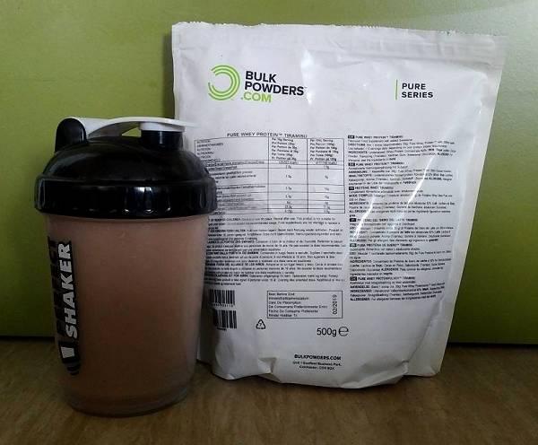 Review: Pure Whey Protein von Bulk Powders im Test