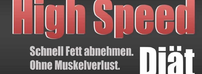 Buchrezension: High Speed Diät (HSD) von FitnessExperts.de
