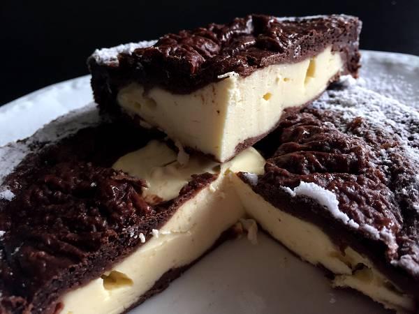 Schoko Käsekuchen | 500 kcal Dessert