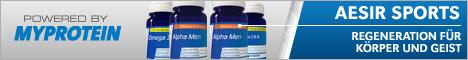 Spare auf deine Supplemente bei Myprotein