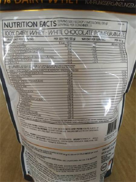 Review: Dairy Whey von Gigas Nutrition im Test