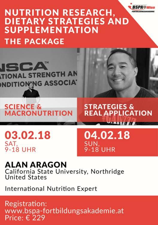 Gewinnspiel: Wir verlosen 2 Tickets für das kommende Ernährungsseminar mit Alan Aragon!