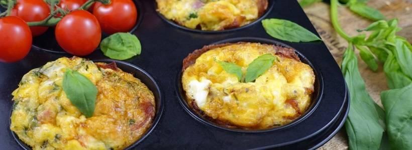 Ei-Muffins mit Bacon | Ketogene Küche
