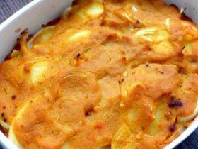 Kürbis-Kartoffelgratin | Fettarmes Refeed Rezept