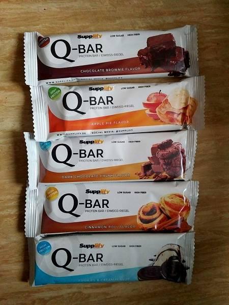 Review: Q-Bar Low Carb Proteinriegel von Supplify im Test
