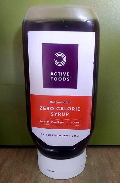 Review: Kalorienfreier Sirup von Bulk Powders im Test