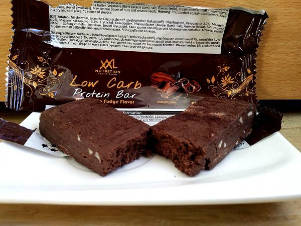 Review: Low Carb Protein Bar von XXL Nutrition im Test