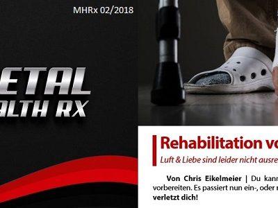 Metal Health Rx: Februar Ausgabe 2018 ab sofort erhältlich