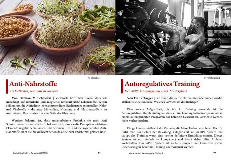 Visuelle Eindrücke aus dem MHRx Magazin